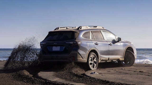 2022 Subaru Outback rear