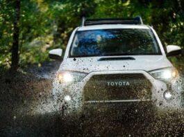2022 Toyota 4Runner front