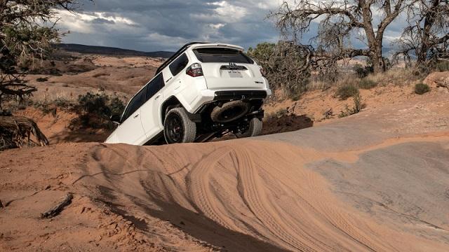 2022 Toyota 4Runner rear