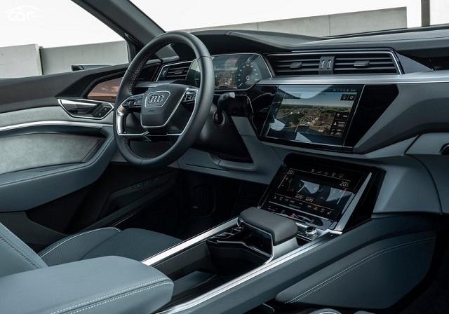 2021 Audi E-Tron Sportback dash
