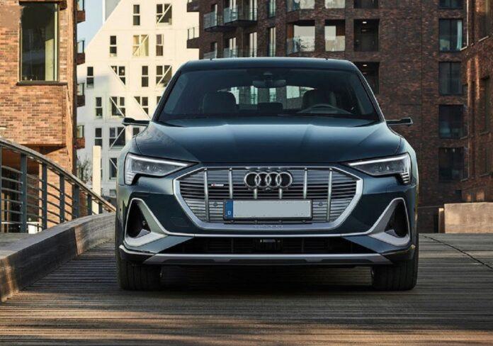 2021 Audi E-Tron Sportback front