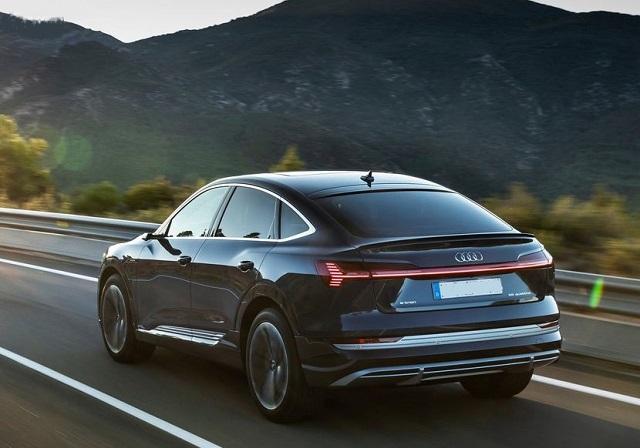 2021 Audi E-Tron Sportback rear