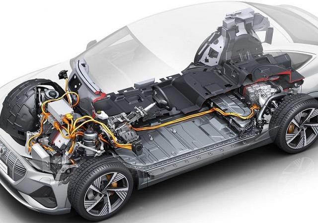 2021 Audi E-Tron Sportback system