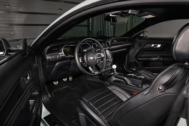 2021 Ford Mustang Mach 1 cabin