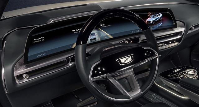 2022 Cadillac XT5 cabin