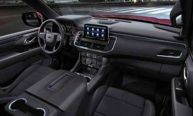 2022 Chevrolet Tahoe cabin