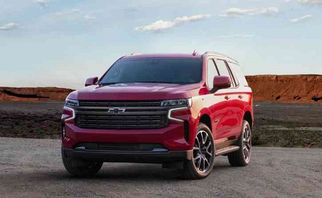 2022 Chevrolet Tahoe front