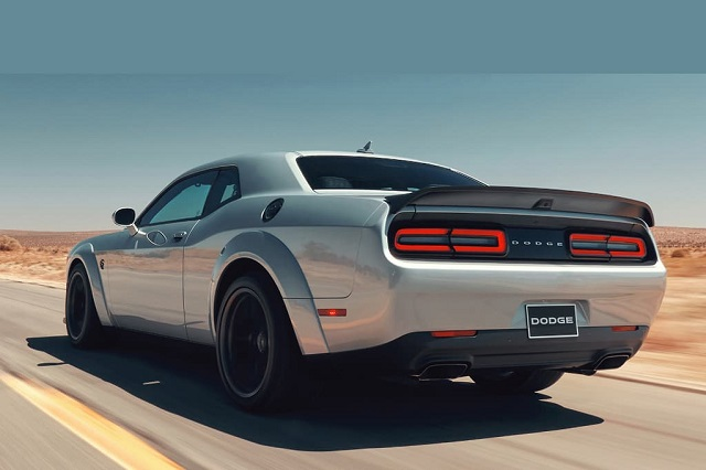 2022 Dodge Challenger rear
