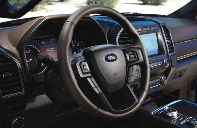 2022 Ford Expedition cabin