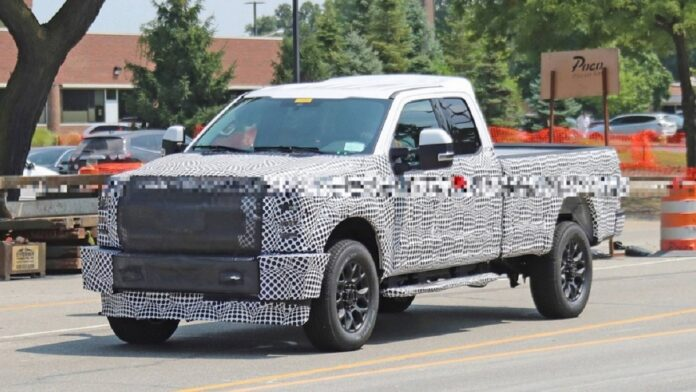 2022 Ford F-250 Front