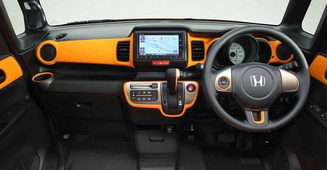 2022 Honda Element cabin