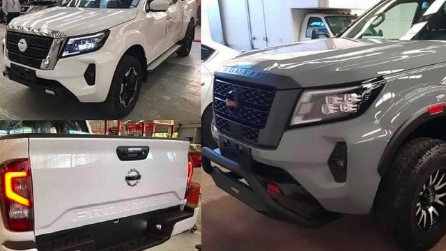 2022 Nissan Frontier front