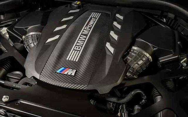2022 BMW X5 engine