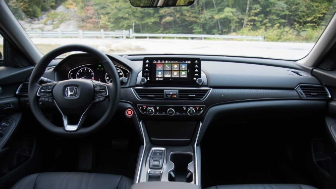 2022 Honda Accord cabin