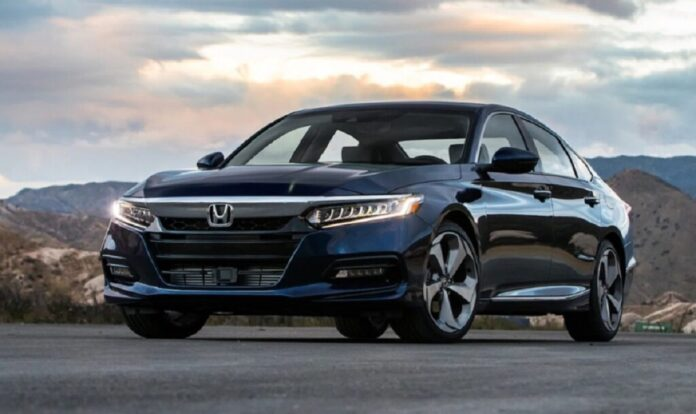 2022 Honda Accord front