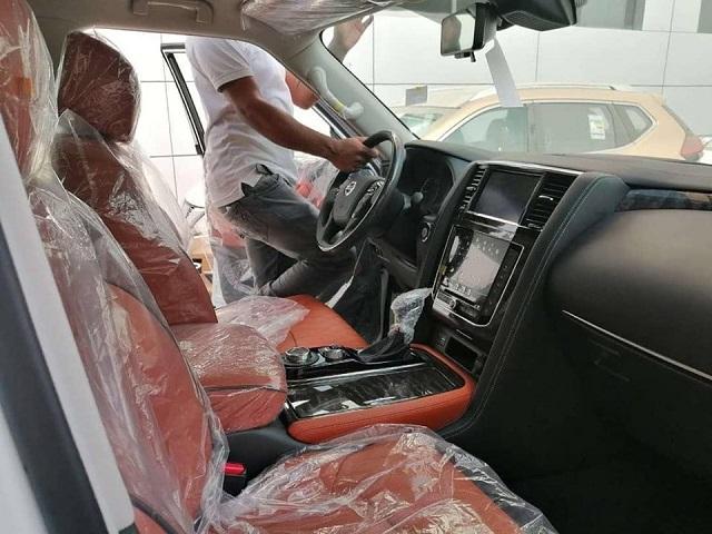 2022 Nissan Armada cabin
