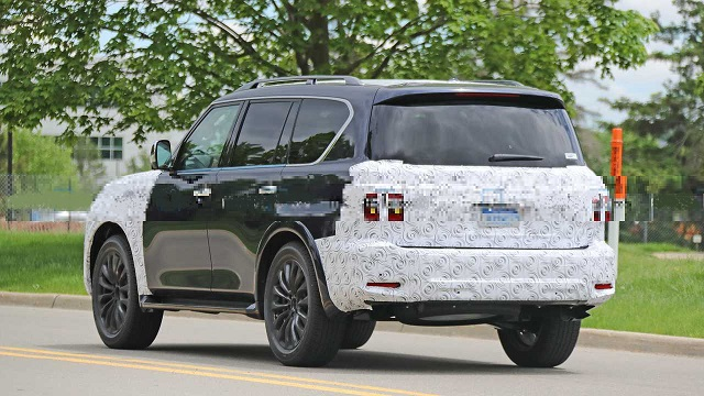 2022 Nissan Armada rear