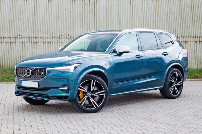 2022 Volvo XC90 front