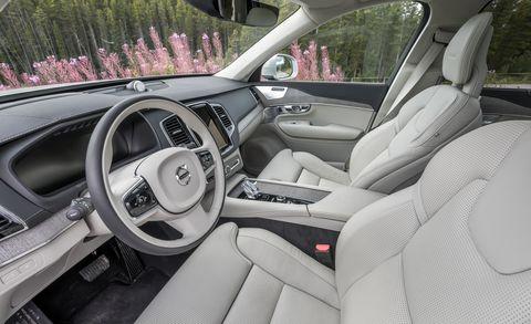 2022 Volvo XC90 interior