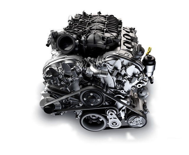 2022 GMC Canyon engine