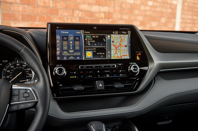 2022 Toyota Sequoia interior