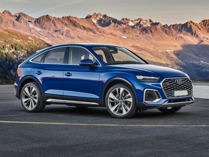 2022 Audi Q5 front