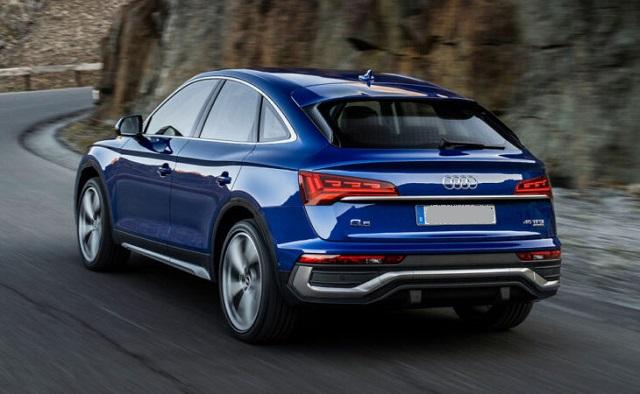 2022 Audi Q5 rear