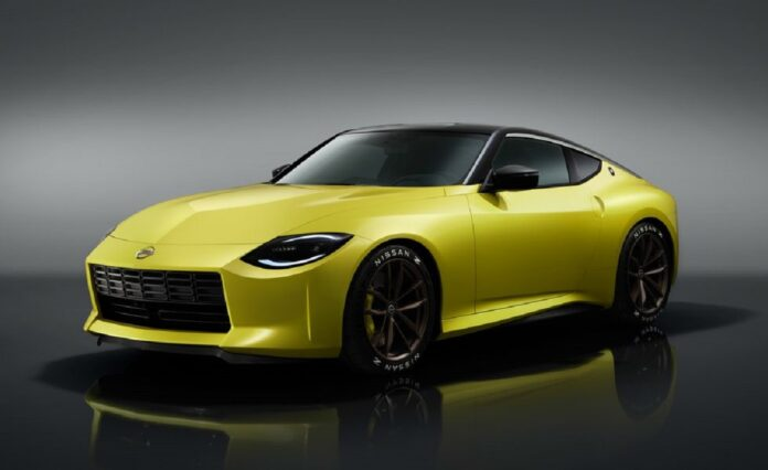 2022 Nissan Z front
