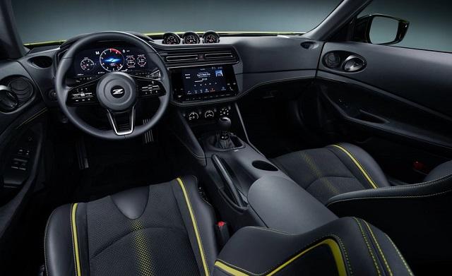 2022 Nissan Z interior