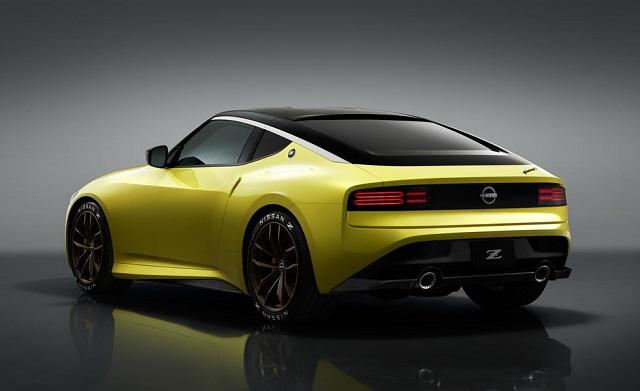 2022 Nissan Z rear