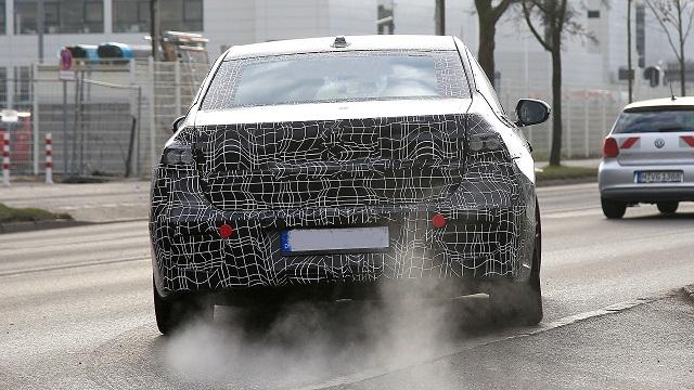 2022 BMW 7 Series rear