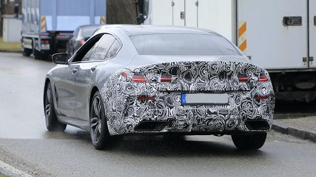 2022 BMW 8-Series rear