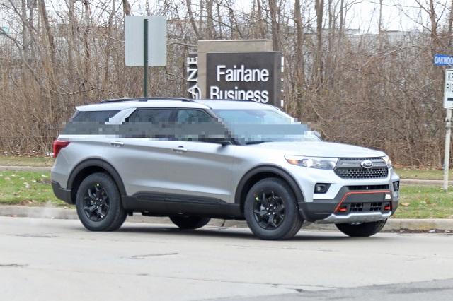 2022 Ford Explorer side