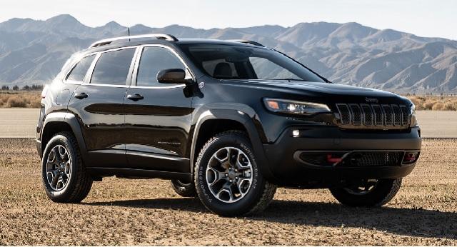 2022 Jeep Cherokee side
