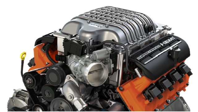 2022 Jeep Grand Cherokee SRT engine