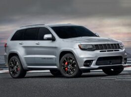 2022 Jeep Grand Cherokee SRT front