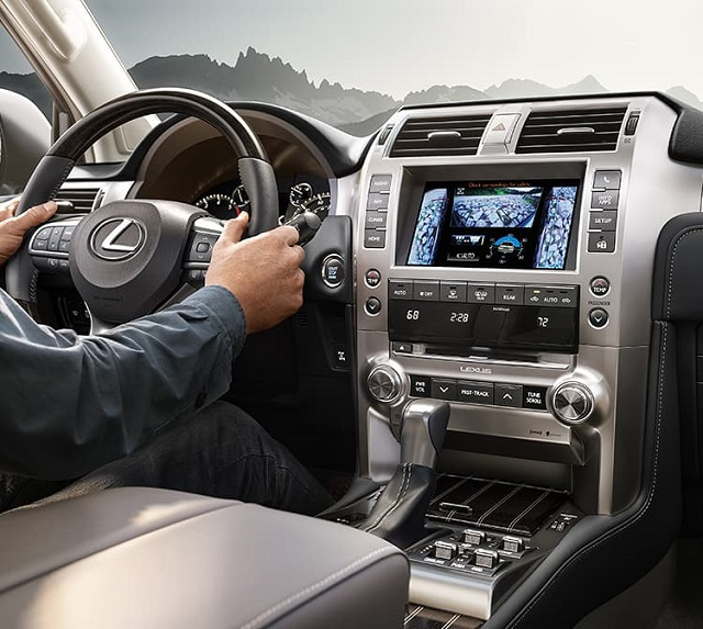 2022 Lexus GX 460 cabin