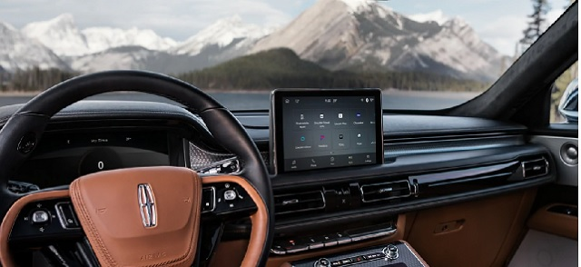2022 Lincoln Aviator interior