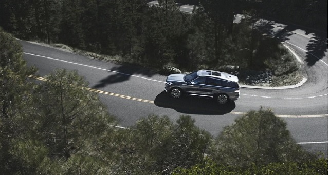 2022 Lincoln Aviator side