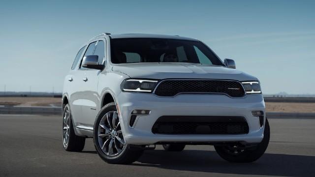 2022 Dodge Durango front