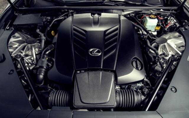 2022 Lexus GX460 engine