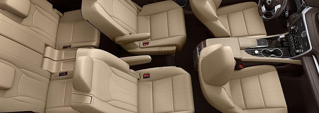 2022 Lexus GX460 interior look