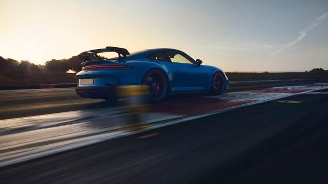 2022 Porsche 911 rear