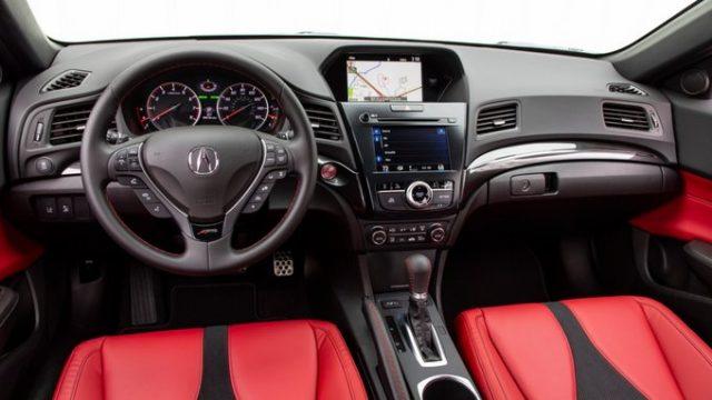 2022 Acura ILX interior