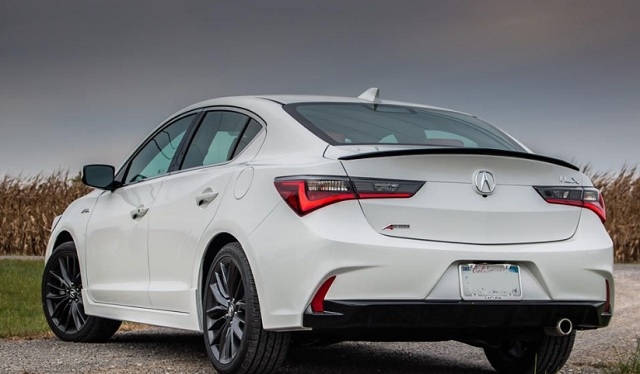 2022 Acura ILX rear