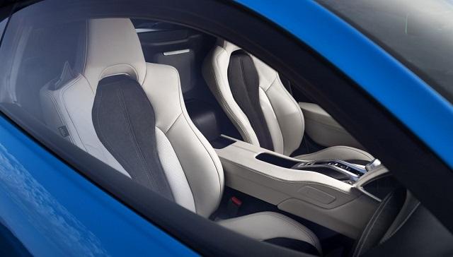 2022 Acura NSX interior