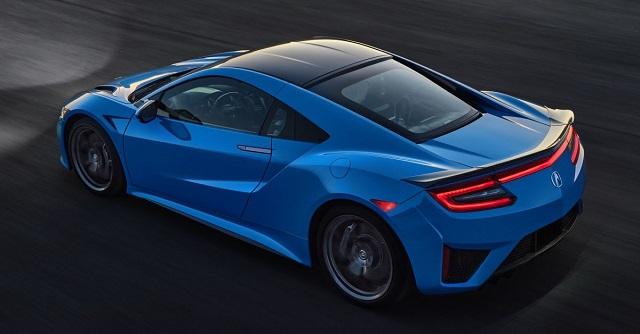 2022 Acura NSX rear