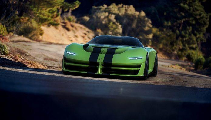 2022 Dodge Viper front look