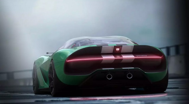 2022 Dodge Viper rear