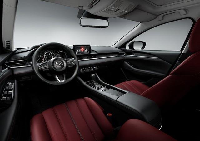 2022 Mazda 6 interior